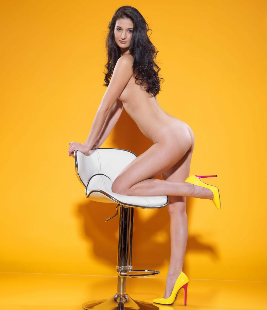 Tall Leggy Brunette Escort